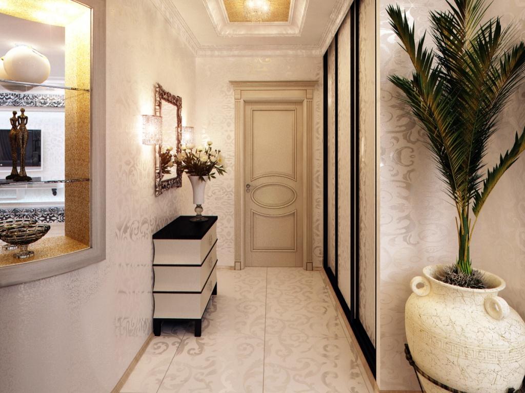 Прихожая для маленького коридора дизайн